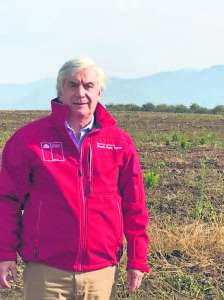 Ricardo Prado Cuevas,  Director ejecutivo de Agroseguros